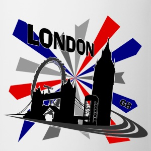 London - United Kingdom Union Jack for Girls - Mug