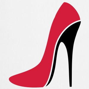 SEXY STILETTO / HIGH HEEL - three | unisex shirt - Kochschürze