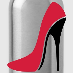 SEXY STILETTO / HIGH HEEL - three | unisex shirt - Trinkflasche