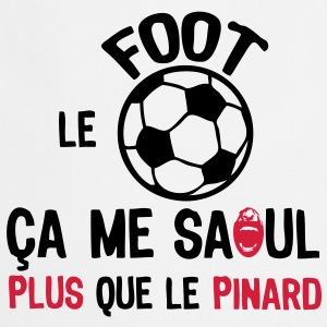 foot saoul plus que pinard ballon sport Tee shirts - Tablier de cuisine
