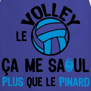 volleyball saoul plus que pinard ballon sport Tee shirts - Tablier de cuisine