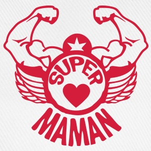 super maman bras muscle tampon2 logo307 Tee shirts - Casquette classique