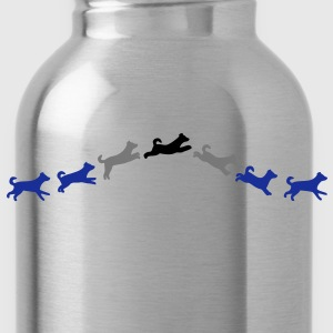 dog jumps T-Shirts - Water Bottle