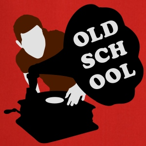 Old school DJ Tee shirts - Tablier de cuisine