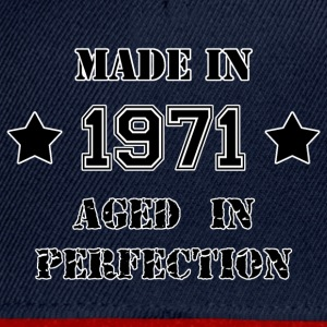 Made in 1971 T-Shirts - Snapback Cap