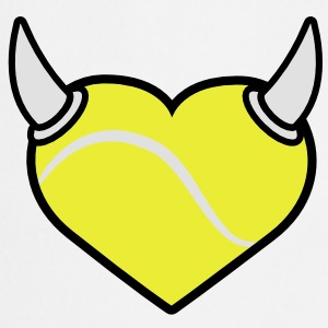 Tennis Fan T-Shirts - Fartuch kuchenny