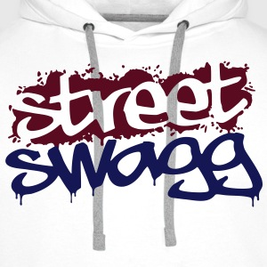 Street Swagg Tag T-Shirts - Men's Premium Hoodie