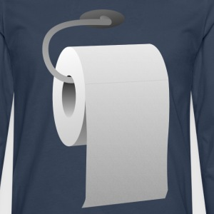 Toilet paper roll  T-Shirts - Men's Premium Longsleeve Shirt