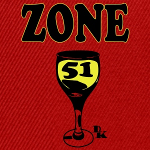 zone 51 vect by dk Tee shirts - Casquette snapback