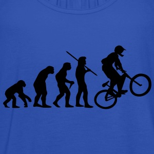 Evolution Mountain Bike, Fahrrad T-Shirt - Frauen Tank Top von Bella