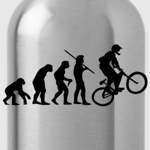 Evolution Mountain Bike, Fahrrad T-Shirt - Trinkflasche