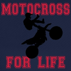 motocross for life T-shirts - Basebollkeps