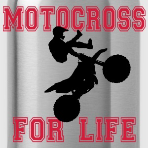 motorcross T-Shirts - Trinkflasche