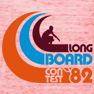 Surfing Longboard Contest 82 - Women's Tank Top by Bella