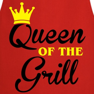 Queen of the Grill Magliette - Grembiule da cucina