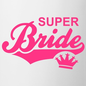 SUPER Bride Crown T-Shirt RW - Mug