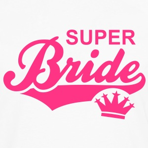 SUPER Bride Crown T-Shirt RW - Men's Premium Longsleeve Shirt