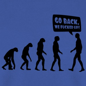 Evolution fucked up T-shirts - Mannen sweater
