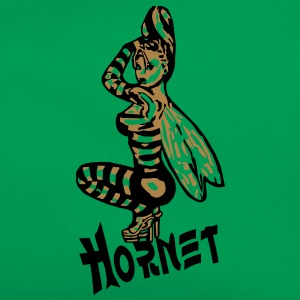 Hornet pin up 2C Tee shirts - Sac Retro