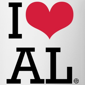 I LOVE AL T-shirt - Tazza