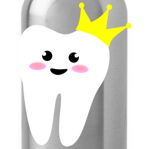 crown_tooth Kinder T-Shirts - Trinkflasche