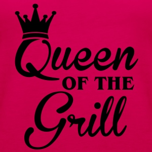Queen of the Grill Magliette - Canotta premium da donna