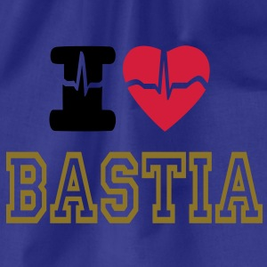 I LOVE Bastia T-Shirts - Drawstring Bag
