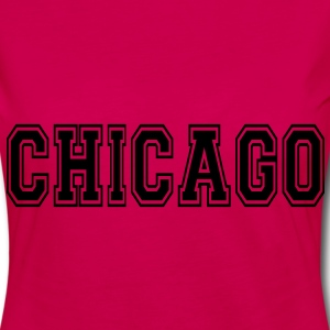 Chicago Tee shirts - T-shirt manches longues Premium Femme