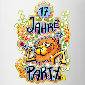 17 Jahre Party T-Shirts - Tasse