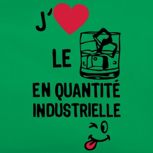 love aime alcool whisky quantite industr Tee shirts - Sac Retro