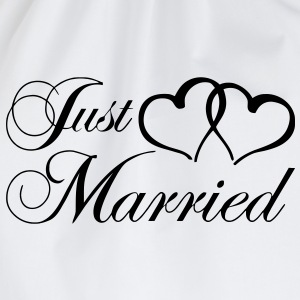 just_married_coeur Tee shirts - Sac de sport léger
