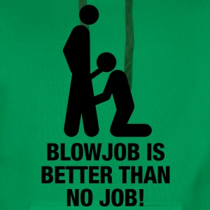 blowjob_no_job T-Shirts - Men's Premium Hoodie