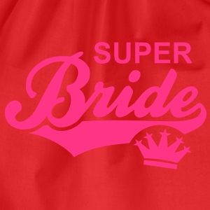 SUPER Bride Crown T-Shirt WR - Gymtas