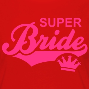 SUPER Bride Crown T-Shirt WR - Vrouwen Premium shirt met lange mouwen