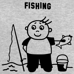 Fishing T-Shirts - Men's Sweatshirt by Stanley & Stella