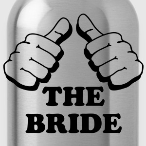 I am the bride - Water Bottle