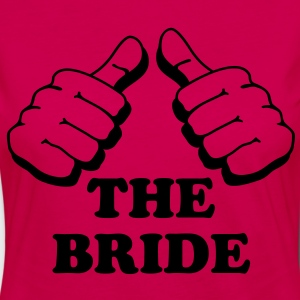 I am the bride - Women's Premium Longsleeve Shirt