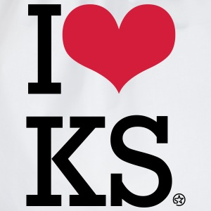 I LOVE KS - Turnbeutel
