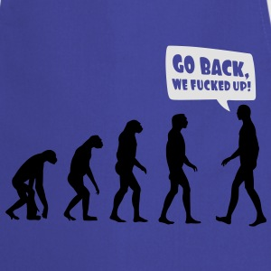 Evolution fucked up T-Shirts - Kochschürze