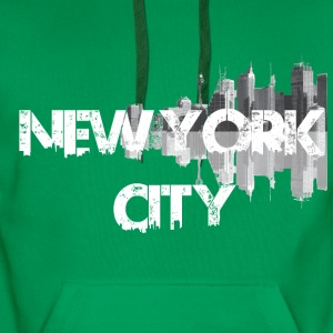 New York City - Sweat-shirt à capuche Premium pour hommes