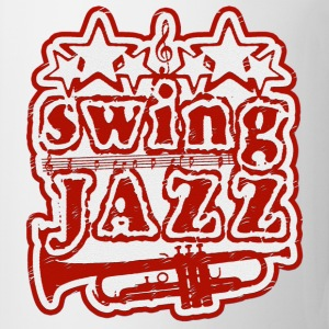 swing jazz Tee shirts - Tasse