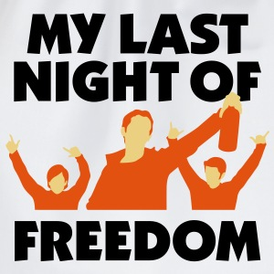 My Last Night Of Freedom 1 (3c)++ T-shirts - Gymtas