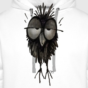 Sleepy Owl T-Shirt by Paul Stickland - Men's Premium Hoodie