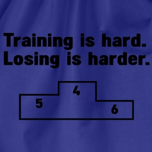 Training vs losing T-Shirts - Turnbeutel