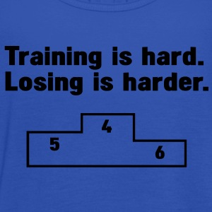 Training vs losing T-Shirts - Frauen Tank Top von Bella