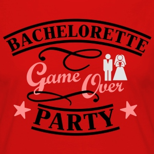Bachelorette Game Over T-Shirts - Frauen Premium Langarmshirt