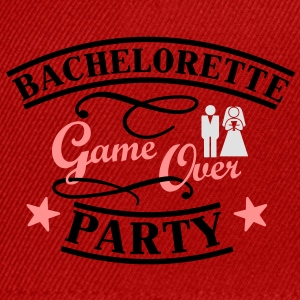 Bachelorette Game Over T-Shirts - Snapback Cap
