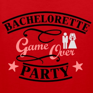 Bachelorette Game Over T-shirts - Premiumtanktopp herr