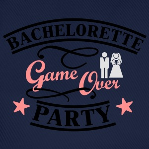 Bachelorette Game Over T-skjorter - Baseballcap