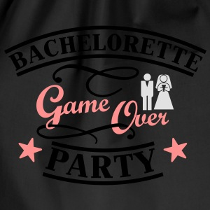 Bachelorette Game Over Camisetas - Mochila saco